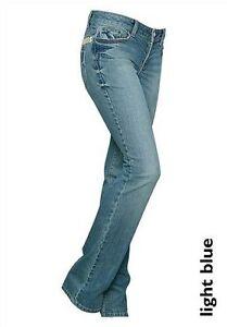 4Wards-Jeans-Kurz-Gr-18-36-NEU-Damen-Stretch-Blau-Used-Hose-Light-Blue-L30