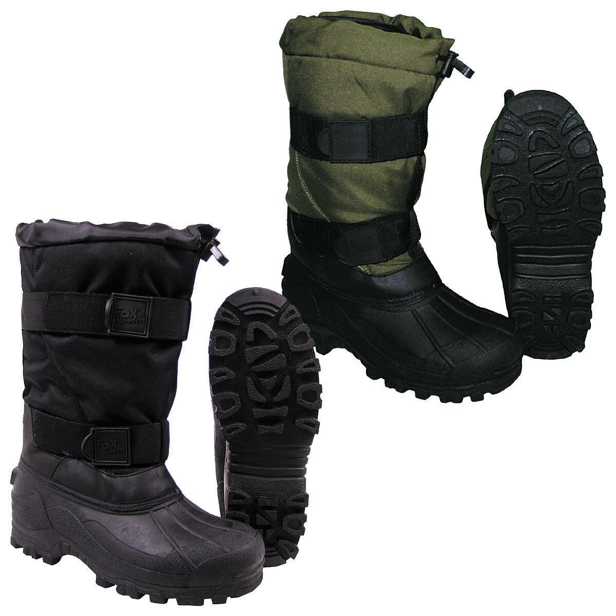 Kälteschutzstiefel FOX ICE BOOTS 37-47, Thermostiefel bis -40°C, Winterstiefel