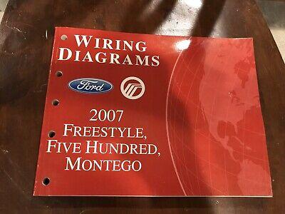 2007 Ford Freestyle Five Hundred Mercury Montego OEM ...