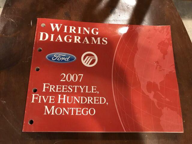 2007 Ford Freestyle Five Hundred Mercury Montego Oem