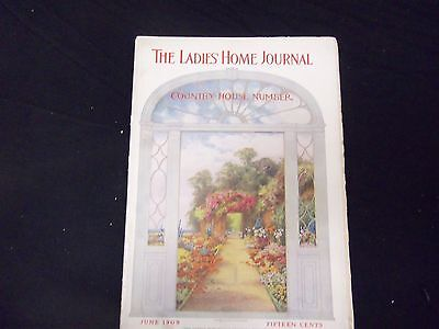 1909 JUNE LADIES' HOME JOURNAL MAGAZINE - GREAT ILLUSTRATIONS & ADS - ST 1686