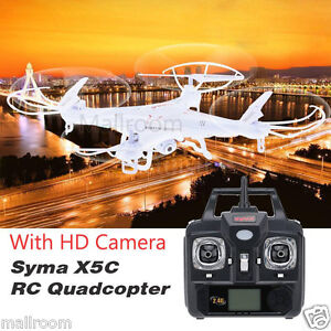 Syma-X5C-1-Explorers-2-4Ghz-6Axis-Gyro-RC-Quadcopter-Drone-UFO-RTF-HD-Camera-DE