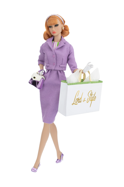 Integrity Toys Poppy Parker City Sweetheart World at Her Feet in NRFB Shipper
