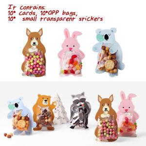 10-NOVETLY-Cadeau-Emballage-Bonbons-Snack-Sac-Sac-Cadeau-Avec-Carte-de-v-ux-Party-Decor