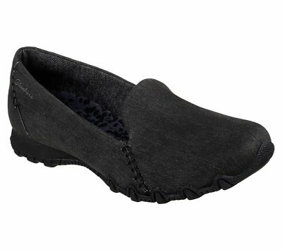 Clothing, Shoes & Accessories Skechers Women's Bikers-smokin' 49494 Black Memory Foam Brand New Strengthening Sinews And Bones