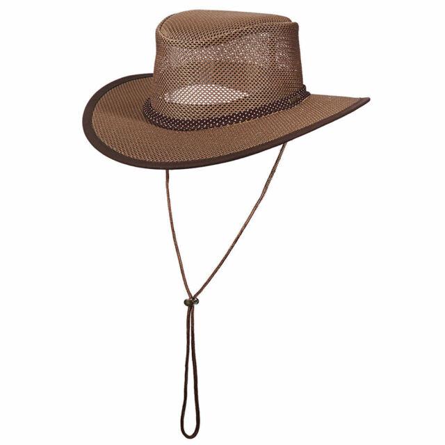 72d8854ff484c Stetson Outdoor Men's Mesh Crown Gambler Hat