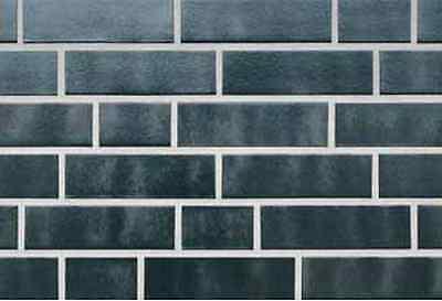 Klinker Baustoffe & Holz Haben Sie Einen Fragenden Verstand Klinker Riemchen Aus Ton Gebrannt Silber-schwarz Nf Ca.240 X 71 X 10 Mm1.sorte