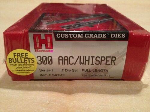 Hornady Custom Grade New Dimension 2-Die Set 300 AAC Blackout 300 Whisper 546349