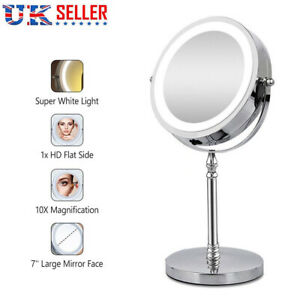 7 Quot 10x Magnifying Mirror With Led Lights For Make Up