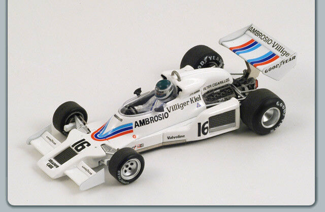 SHADOW J.P.JARIER 1977  16 US GP 1 43 Spark S1757