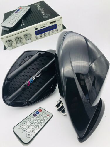 Yamaha  JETSKI 2 SPEAKER KIT  AMP BLUETOOTH SYSTEM UNIVERSAL FIT KAWASAKI DIY