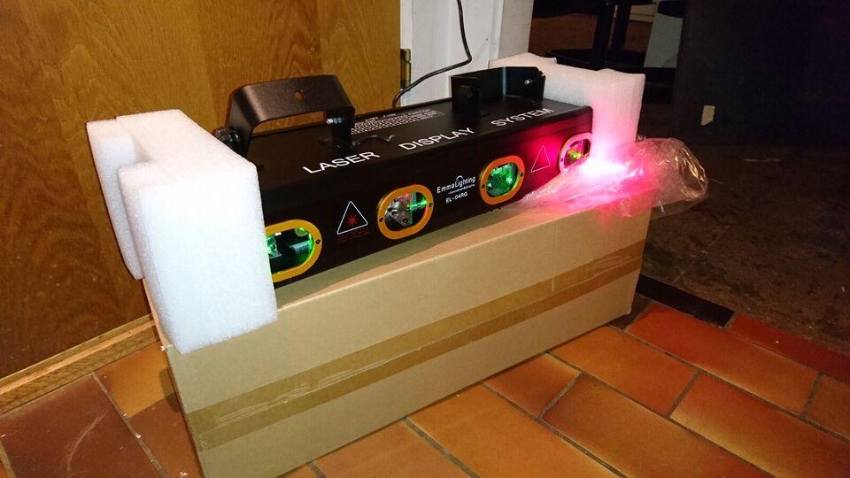Laser, Emma lighting Rgb
