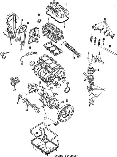 Subaru 13294ka000 Genuine Oem Factory Original Valve Cover Gasket