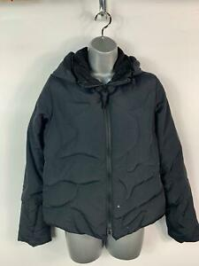 WOMENS-FIRETRAP-BLACK-PADDED-CASUAL-ZIP-UP-WINTER-PUFFER-COAT-JACKET-SIZE-MEDIUM