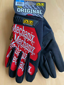 Mechanix-Wear-Original-Gloves-rot-Arbeits-Handschuhe-Motorsport-Work-Biker-Neu