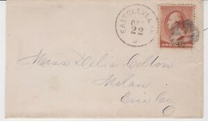 EAST-CLEVELAND-OHIO-Cover-cds-OCT-22-franked-with-Scott-210-to-MILAN-OHIO
