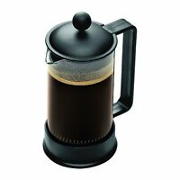 Bodum Brazil 3 Cup French Press Coffee Maker, 12 Oz, Black , New, Free Shipping on sale