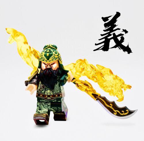 ⎡MINIFIGS FACTORY⎦ Custom General Guan Yu Minifigure