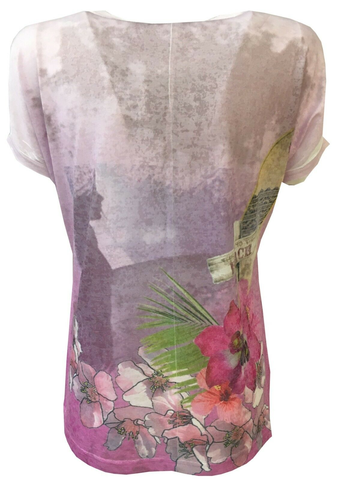 TWENTY EASY by KAOS t- t- t- shirt donna 82% poliestere 18% viscosa MADE IN ITALY 93ae51