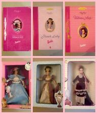 """BARBIE  """" The Great Eras """" collection Edition NRFB 1996 lot of three"""