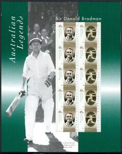 Australia-piccoli-archi-nel-folder-MiNr-1614-15-i-post-FRESCHI-MNH-Cricket-gf11419