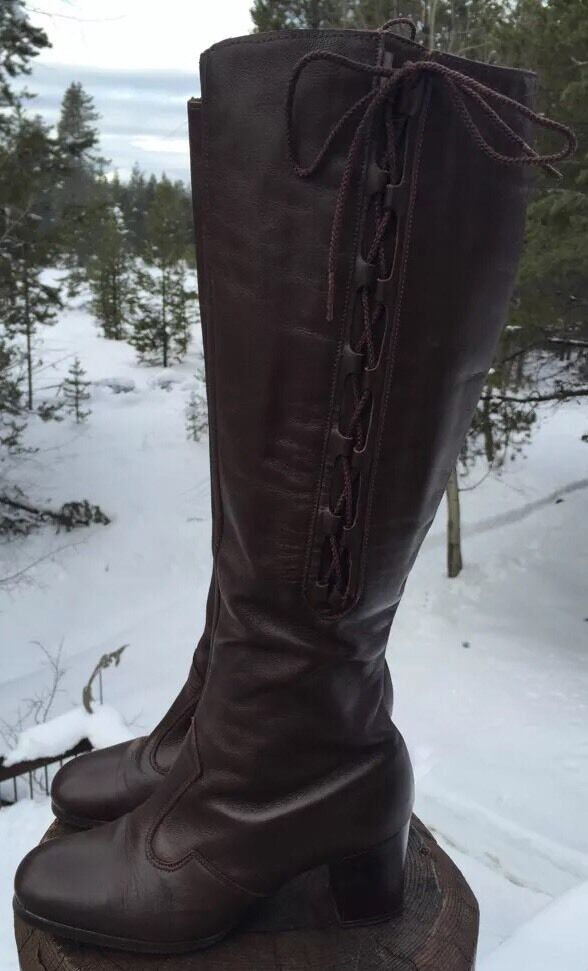 Revelations Women's Brown Knee High Boots Size 5M