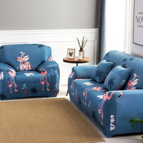 1-4er Sofahusse Sofabezüge Abdeckung Universal Stretchhusse Sofabezug Elastizit