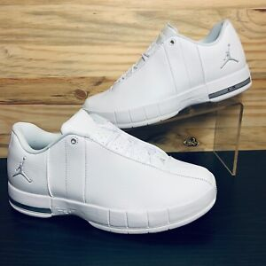 Nike-Air-Jordan-TE-Team-Elite-2-Low-Men-039-s-White-Silver-Multi-Sizes-AO1696-100