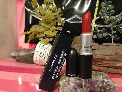 "MAC COSMETICS   lipstick "" CHILI "" AUTHENTIC  hard to find"