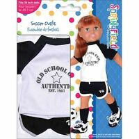 American Girl Doll Clothes/accessories Springfield Soccer Outfit