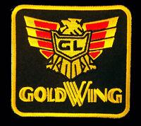 Honda Gold Wing Emroidered Biker Jacket Vest Patch