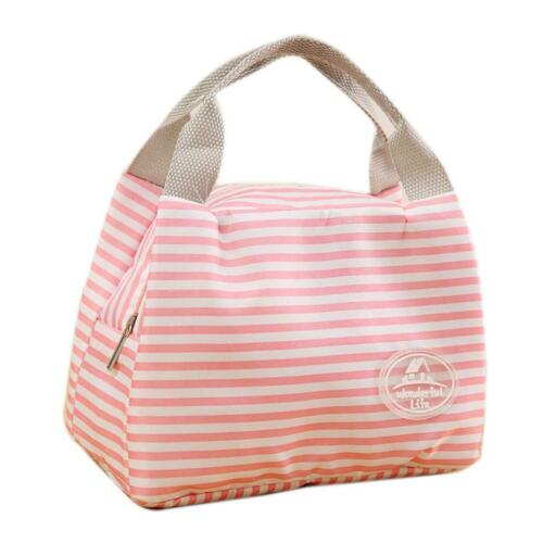 Insulated Thermal Cooler Lunch Bag Pouch Picnic Storage Box 0006