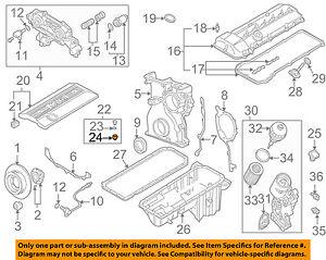 BMW OEM 98-02 Z3 3.2L-L6 Engine-Valve Cover Bushing 11121437395