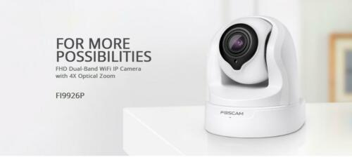 Foscam FI9926P 2MP Full HD 1080P PTZ IP Camera-White