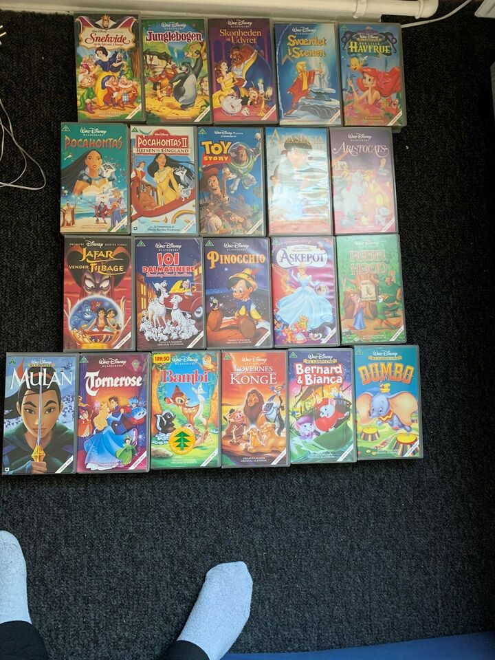 VHS Disney  film