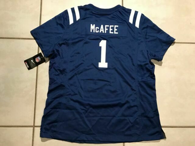 Nike Indianapolis Colts Pat McAfee NFL Jersey Women's 2xl