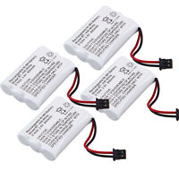 4x For Bg0004 Bg004 Cordless Home Phone Replacement Battery Pack At&t 3095 3470