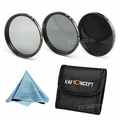 67mm ND Neutral Density ND2 ND4 ND8 Lens Filter Kit for Nikon Canon Tamron Sigma