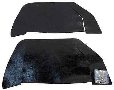 1964-65 Chevy Chevelle A-Arm Dust Shield Set pair