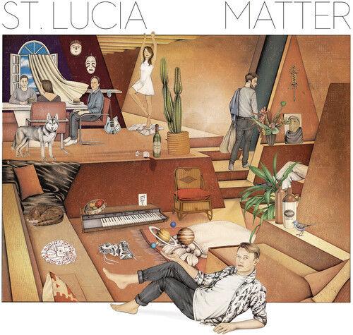 St. Lucia - Matter [New Vinyl] Download Insert