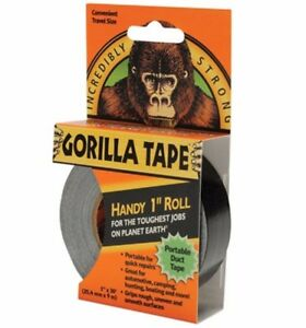 Gorilla-Tape-Handy-Roll-To-Go-25mm-1-034-x-9M-Strong-Seal-Sticky-Duct-Gaffa-Gaffer