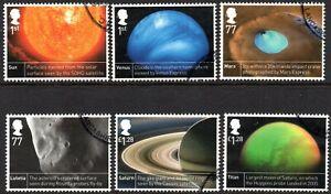 2012 SG 3408/3413 ciencia espacial bien utilizado Conjunto de 6