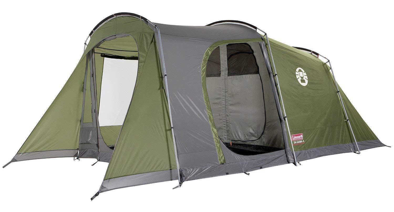 Coleman da gama 5   tienda túnel   hasta 5 personas   como nuevo   2 cámaras de sueño