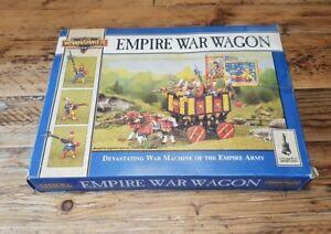 Warhammer Fantasy Empire War Wagon * Complète Citadelle peinte en boîte peinte *