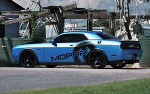 FACTORY STRIPE DODGE CHALLENGER MOPAR FULL SIDE GRAPHIC KIT 2011 ...
