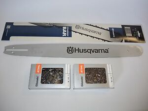 Husqvarna 550XP 50cm SWS Forst Schwert 3 VM Sägeketten 325 1,5mm 78TG p.f
