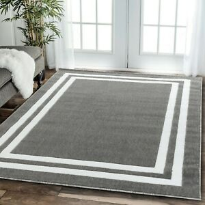 Area-rug-Nwprt-69-modern-gray-and-white-soft-pile-sizes-2x3-4x5-5x7-8x11