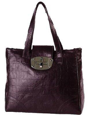 Damen Faux Leder Boten Schulter Handtasche Frauen Zwei Riemen Handtasche Tasche