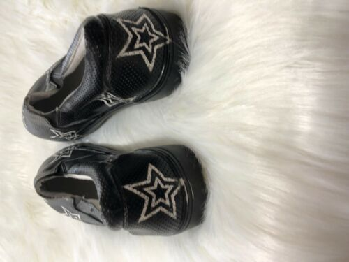 Details about  /MIA Black Slip-Ons with StarsNew
