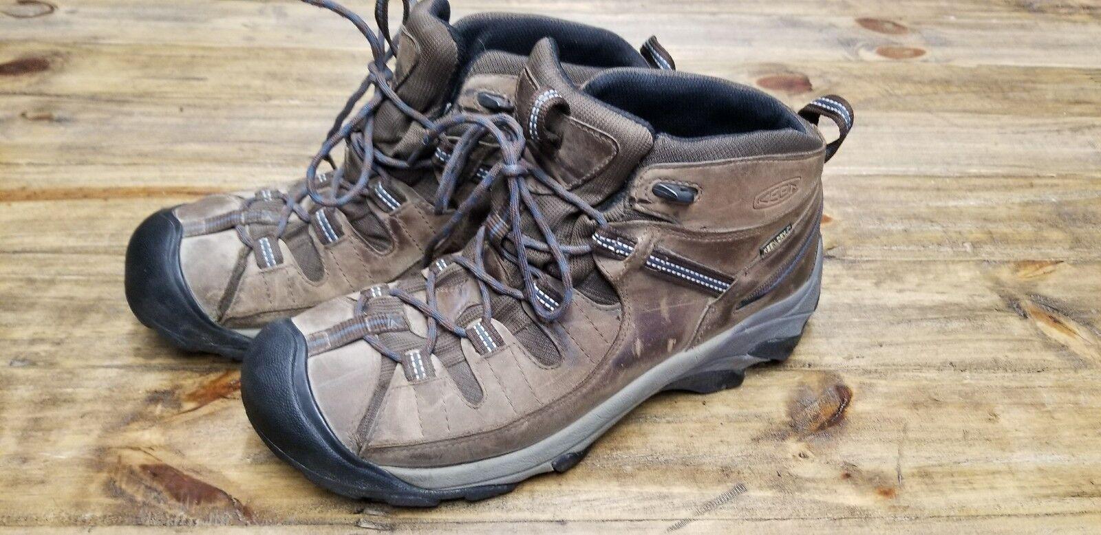 Keen Para  Hombre botas Para Excursionismo Medio Marrón Marrón aislamiento tamaño nos 10  Envío rápido y el mejor servicio